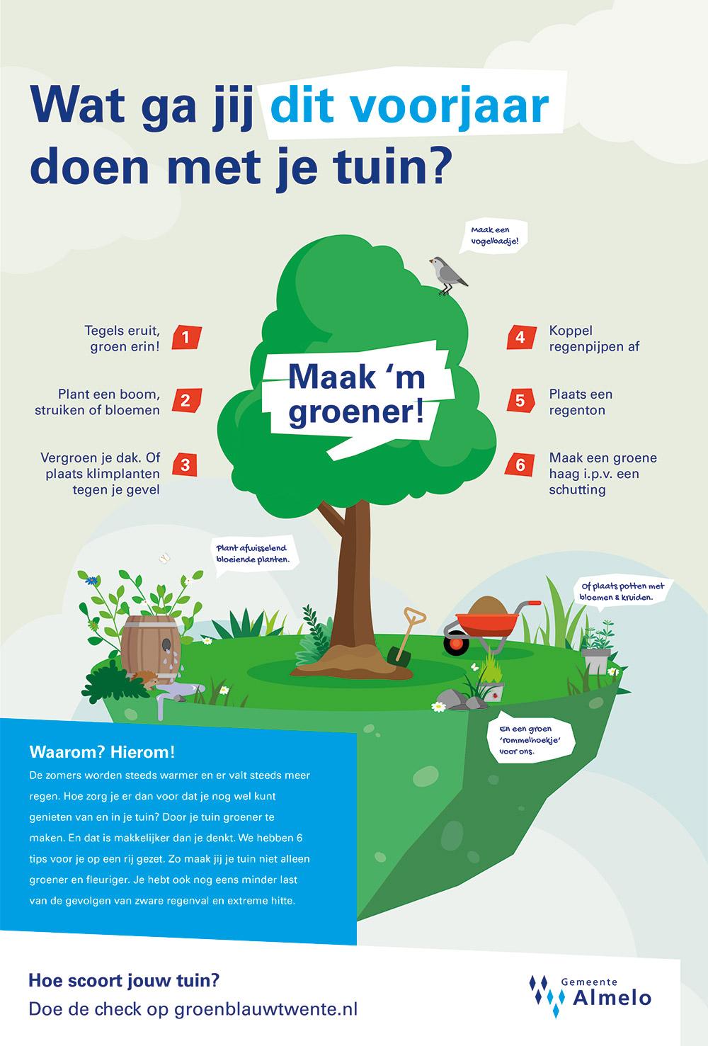 Wat ga jij dit voorjaar doen met je tuin?